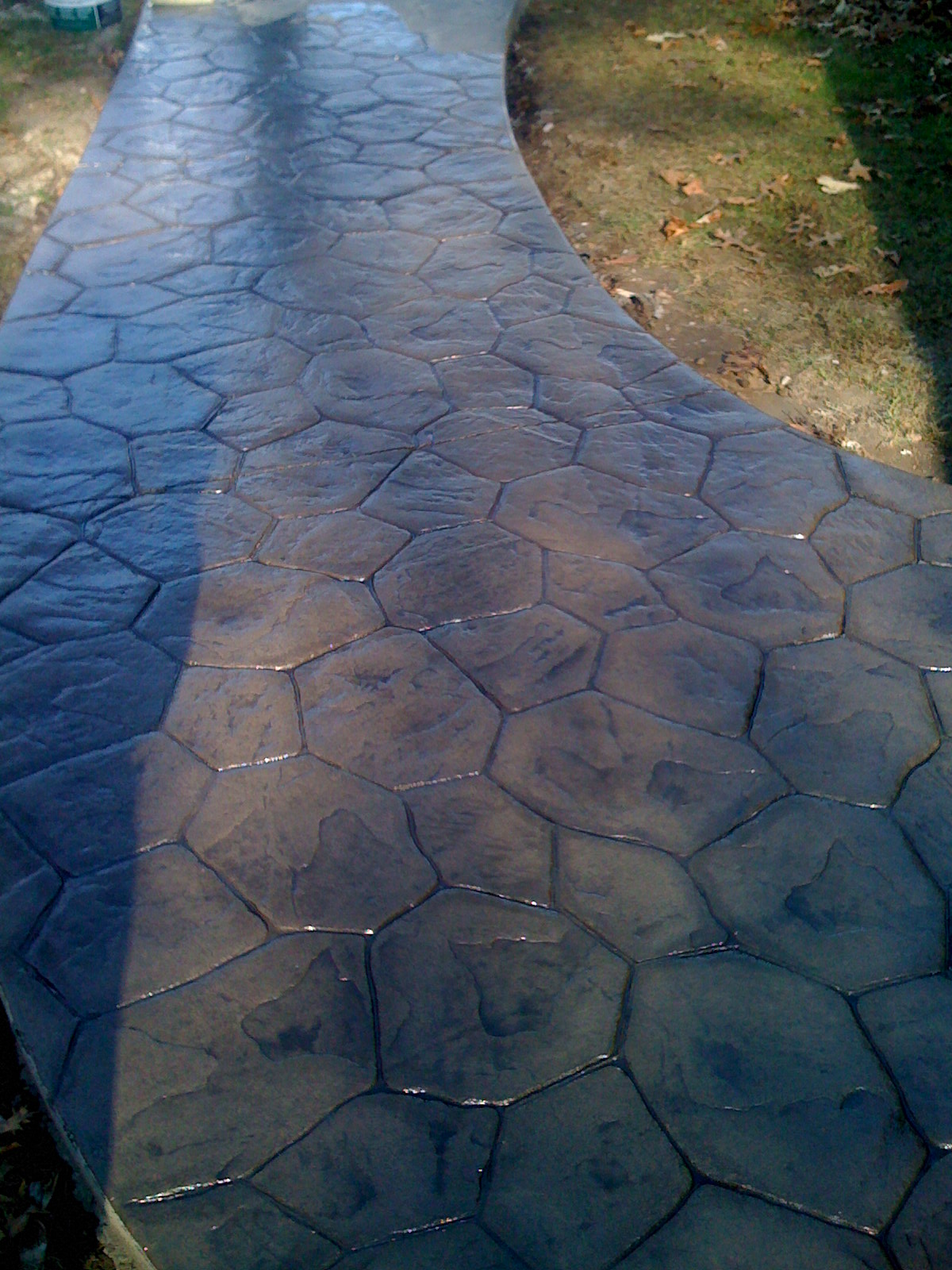 Artistic Stamped Concrete Of Rhode Island Resealing