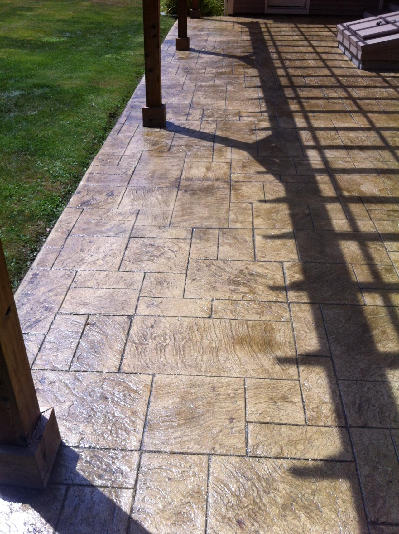 Artistic Stamped Concrete of Rhode Island - Patios 2