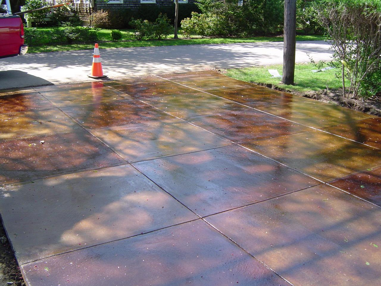 Artistic Stamped Concrete Of Rhode Island Interior