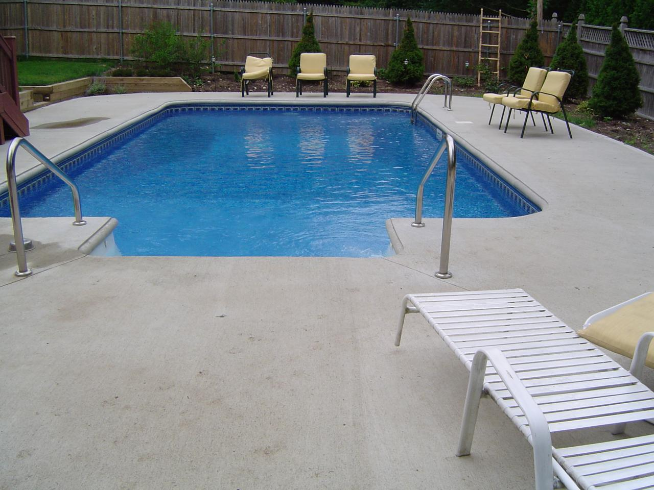 Swimming Pool Cement : Stamped concrete around swimming pools best